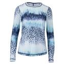 Women`s Long Sleeve Tennis Top PANTHER_WASH