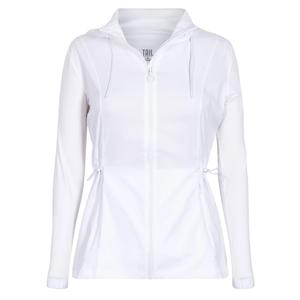 Women`s Nola Tennis Jacket Chalk
