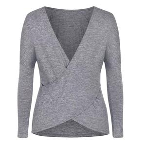 Women`s Victoria Long Sleeve Tennis Top Frosted Heather