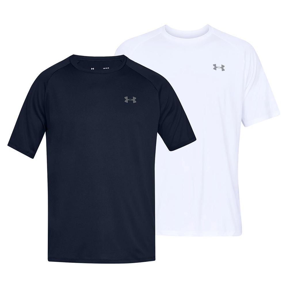 Under Armour Mens UA Tech Power Sleeve Training Gym Sports T Shirt