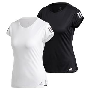Womens Club 3 Stripe Tee