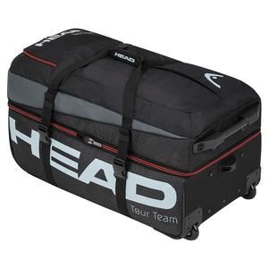 Tour Team Travel Tennis Bag Black and Gray