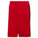 Men`s 3 Stripe Cool Short EB3974_SCARLET/BK