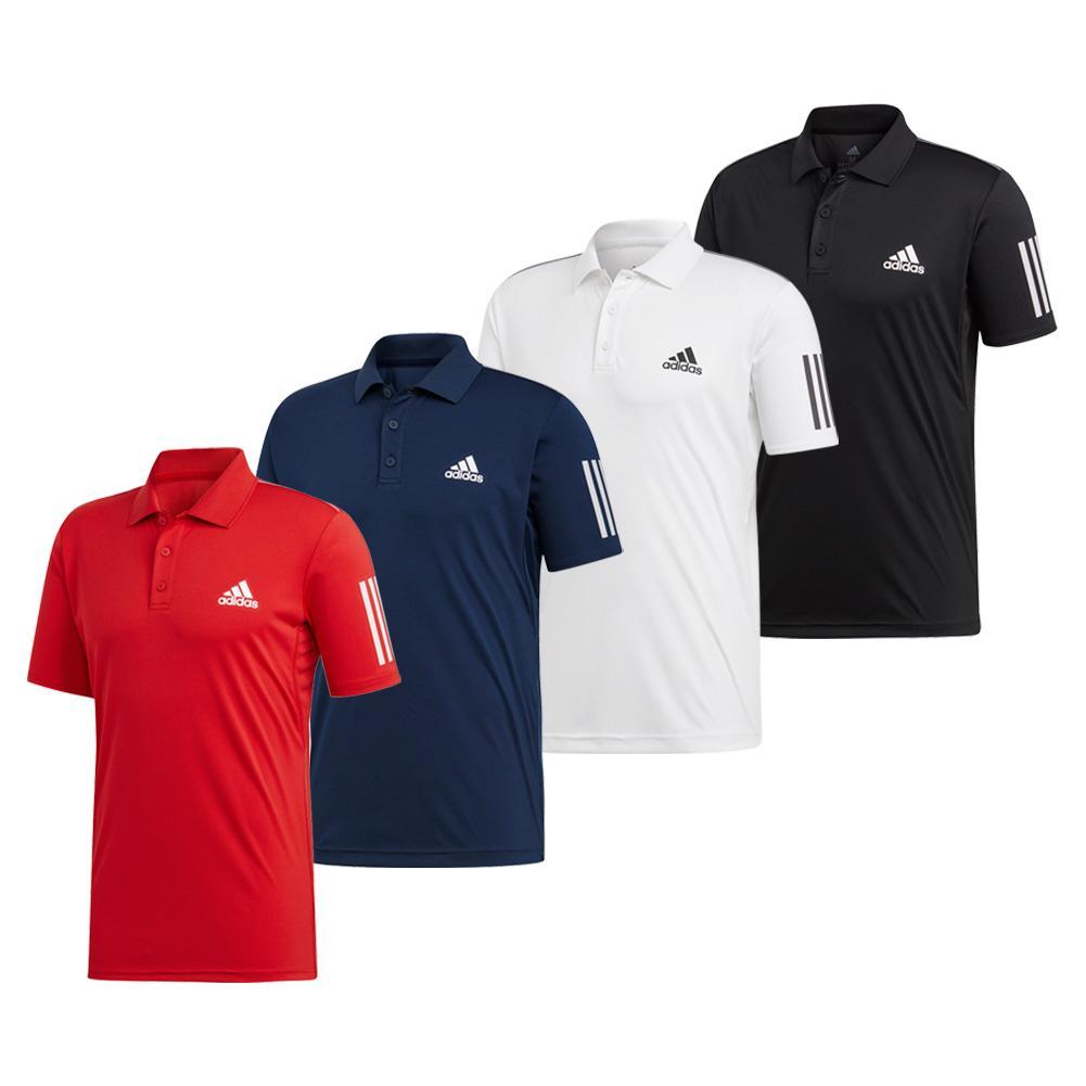 Men's Club 3 Stripe Polo