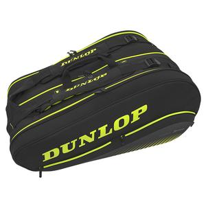SX Performance 12 Pack Thermo Tennis Bag Black and Yellow