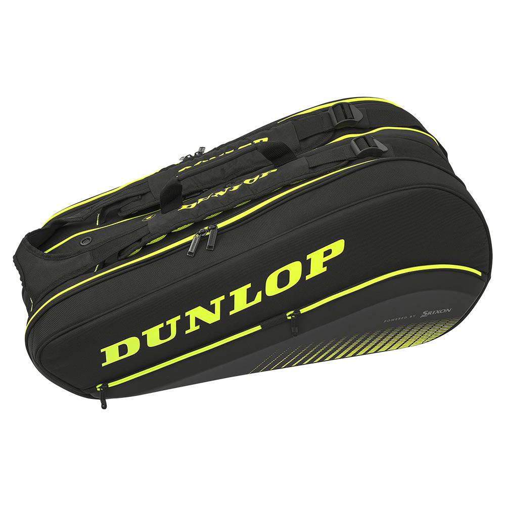 Sx Performance 8 Pack Thermo Tennis Bag Black And Yellow