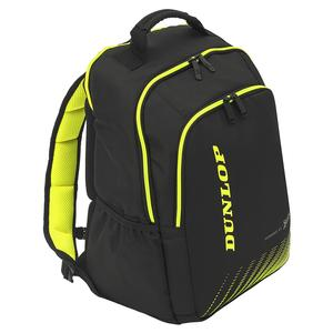 SX Performance Tennis Backpack Black and Yellow