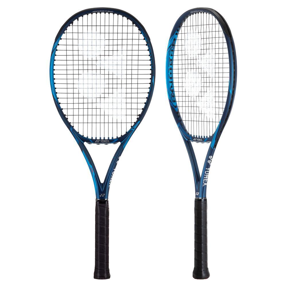 Ezone 100 Deep Blue Demo Tennis Racquet 4_3/8