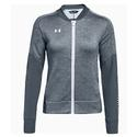 Women`s Qualifier Hybrid Warm-Up Jacket 008_STEALTH_GRAY