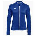 Women`s Qualifier Hybrid Warm-Up Jacket 301_FOREST_GREEN