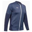 Women`s Qualifier Hybrid Warm-Up Jacket 410_MIDNIGHT_NAVY