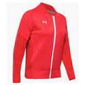 Women`s Qualifier Hybrid Warm-Up Jacket 600_RED