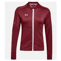 Women`s Qualifier Hybrid Warm-Up Jacket 625_CARDINAL