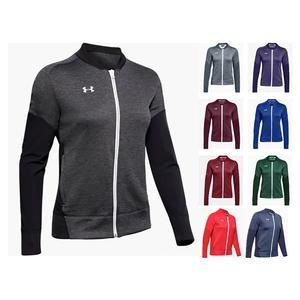 Women`s Qualifier Hybrid Warm-Up Jacket