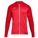Men`s Qualifier Hybrid Warm-Up Jacket 600_RED
