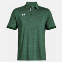Men`s Elevated Medium Heather Polo 303_FOREST_GREEN