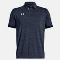 Men`s Elevated Medium Heather Polo 412_MIDNIGHT_NAVY
