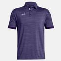 Men`s Elevated Medium Heather Polo 502_PURPLE