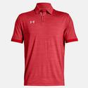Men`s Elevated Medium Heather Polo 602_RED