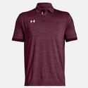 Men`s Elevated Medium Heather Polo 612_MAROON