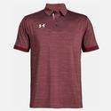 Men`s Elevated Medium Heather Polo 627_CARDINAL