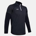 Men`s Qualifier Hybrid Quarter Zip 001_BLACK