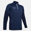 Men`s Qualifier Hybrid Quarter Zip 410_MIDNIGHT_NAVY
