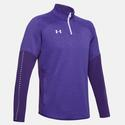 Men`s Qualifier Hybrid Quarter Zip 500_PURPLE