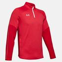 Men`s Qualifier Hybrid Quarter Zip 600_RED