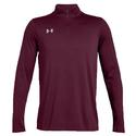 Men`s Locker Quarter Zip 610_MAROON