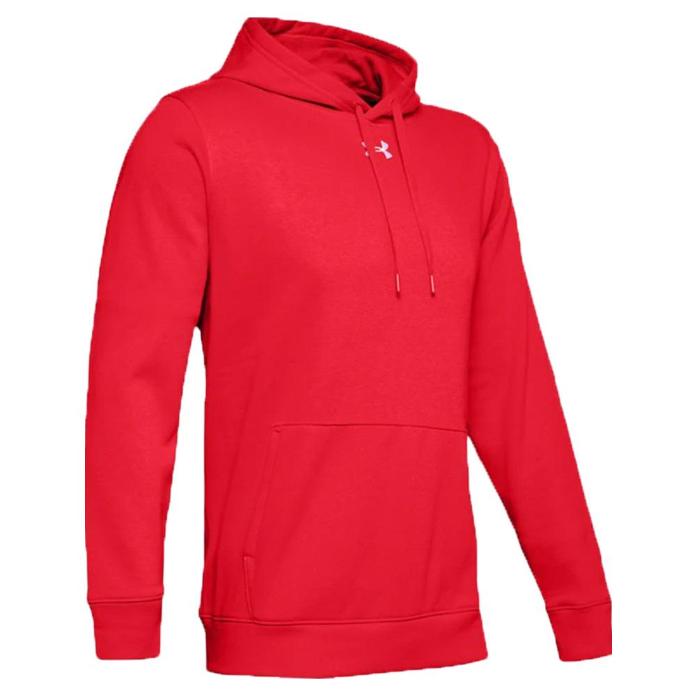 Under Armour men/'s Hustle Fleece Team hoodie hoody 1300123 gray NEW M medium