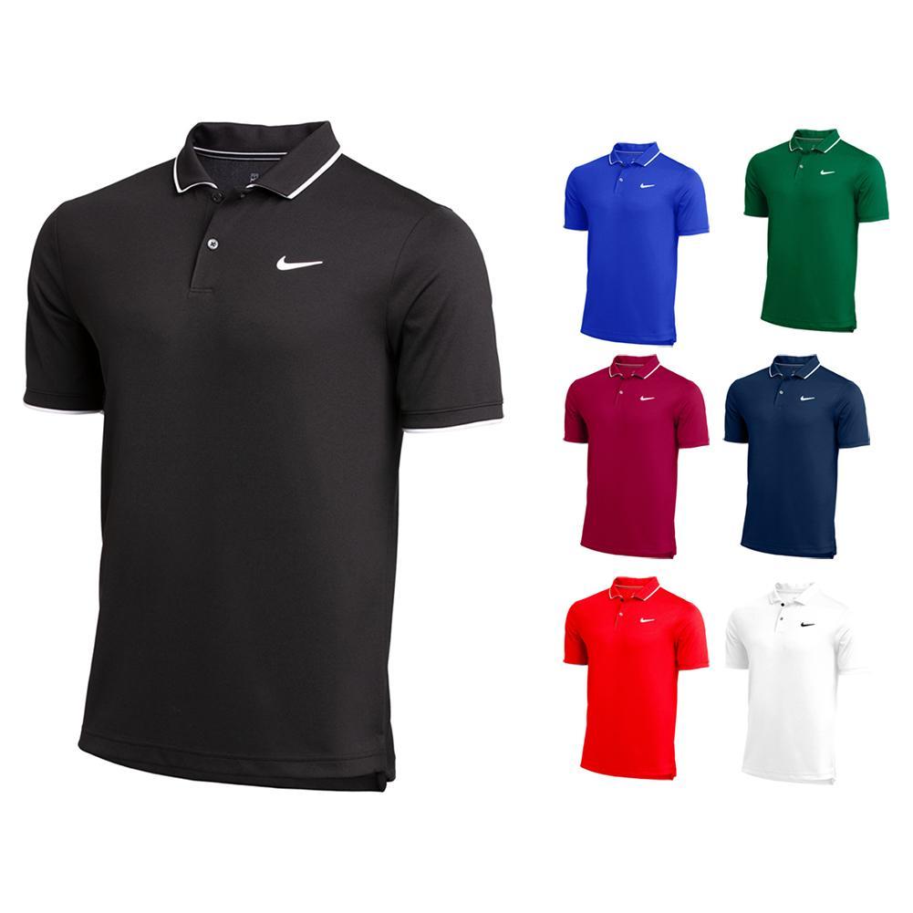 Men's Team Dry Tennis Polo