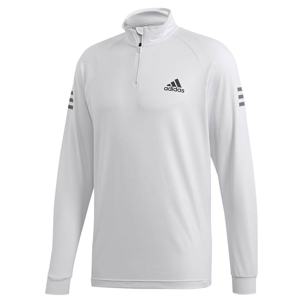 Men's Club Midlayer Tennis Top Dash Grey And Grey Six