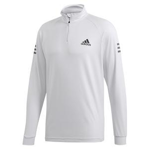 Men`s Club Midlayer Tennis Top Dash Grey and Grey Six