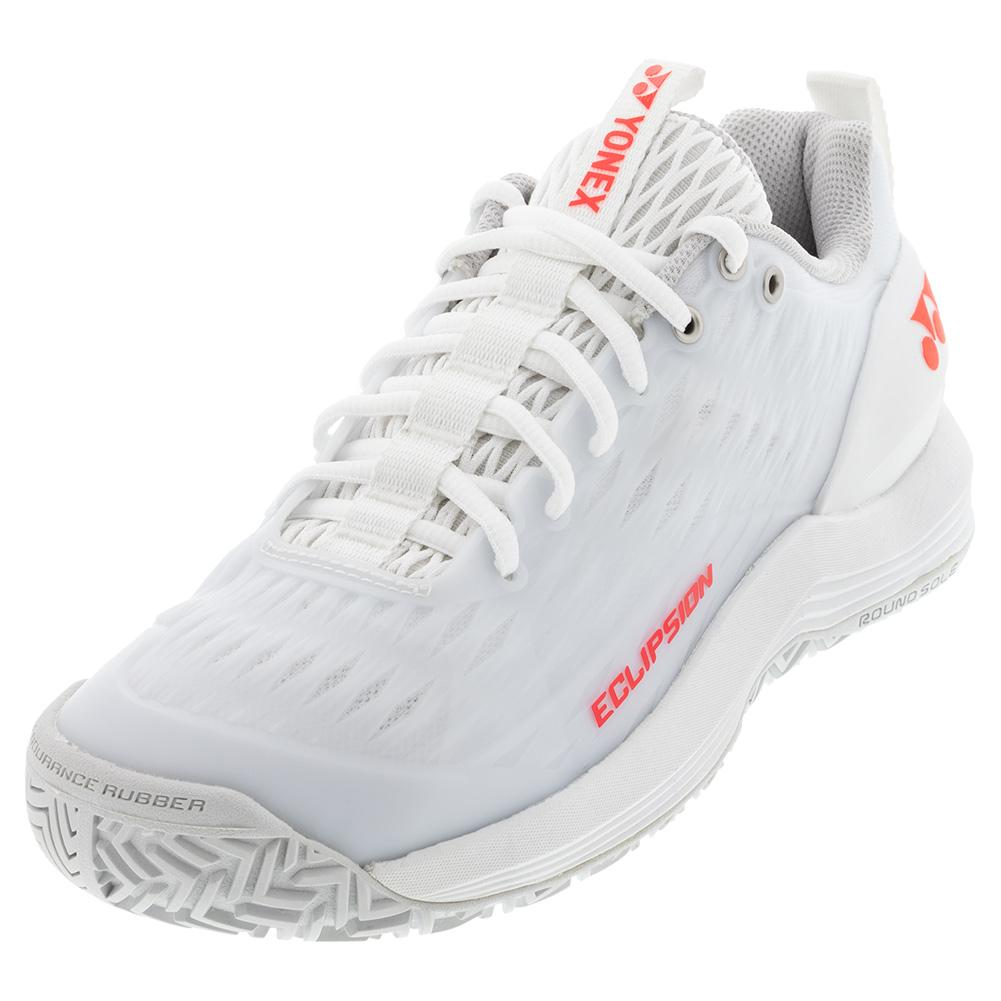 Women's Power Cushion Eclipsion 3 Tennis Shoes White And Red