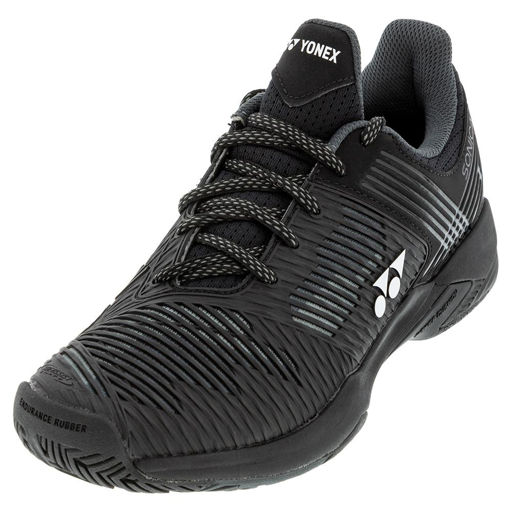 Men's Power Cushion Sonicage 2 Tennis Shoes Black