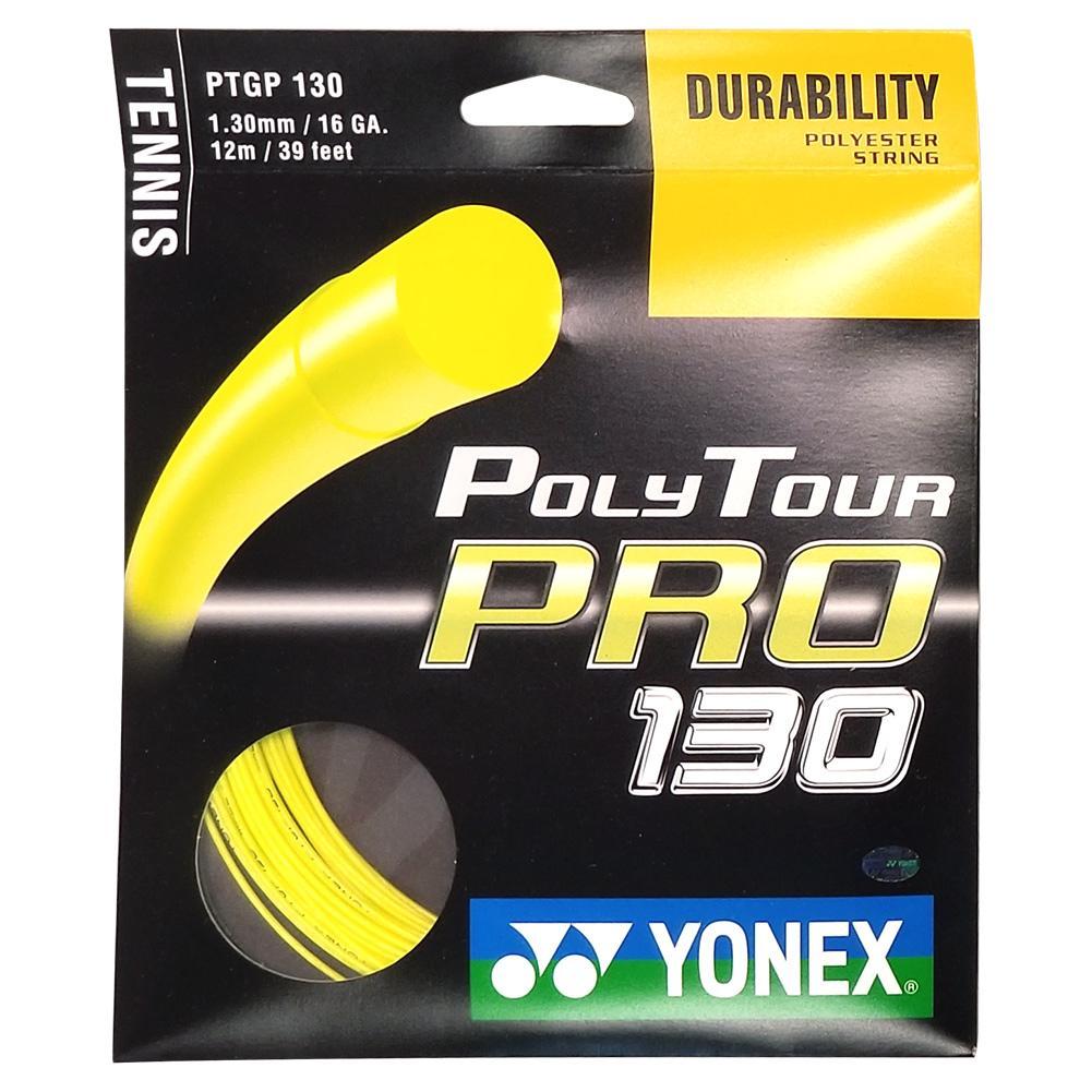 Poly Tour Pro Flash Yellow Tennis String