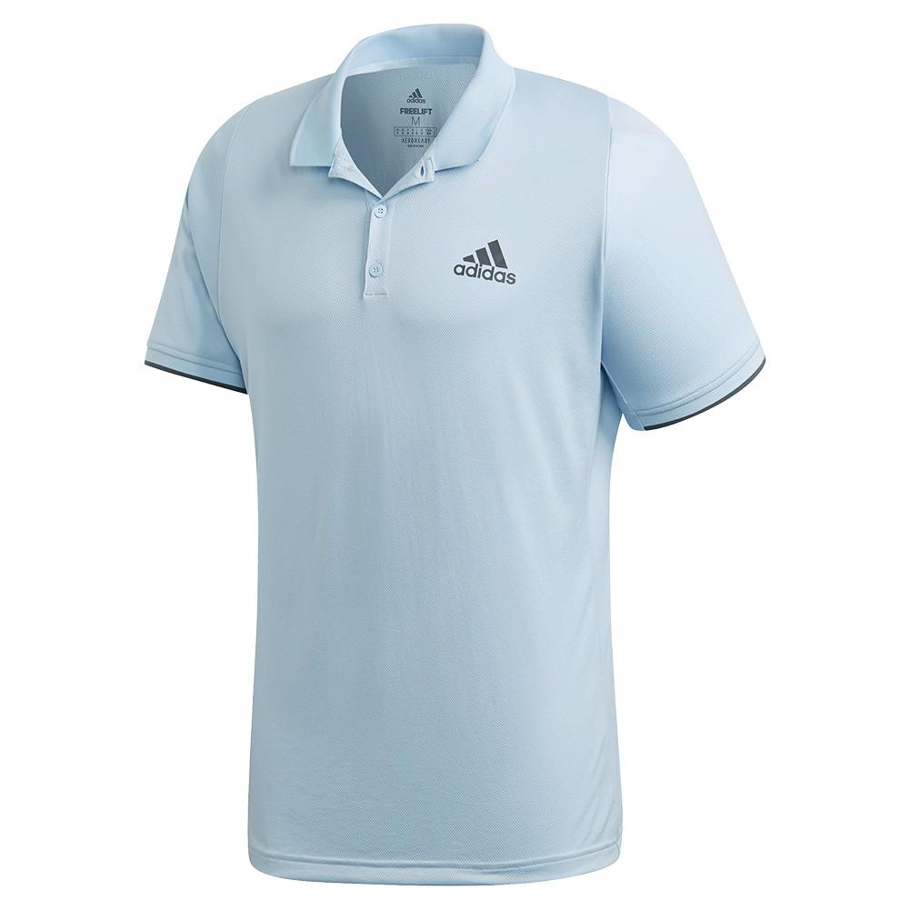 Men's Game Set Freelift Tennis Polo Easy Blue