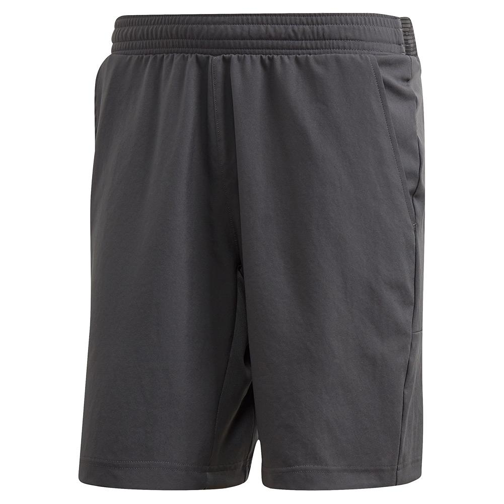 Men's Primeblue Ergo 9 Inch Tennis Short Grey Six And Two