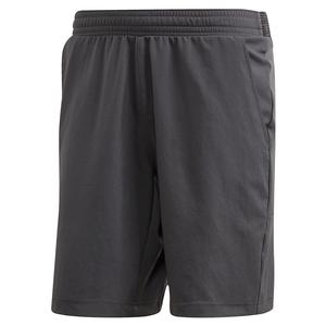 Men`s Primeblue Ergo 9 Inch Tennis Short Grey Six and Two