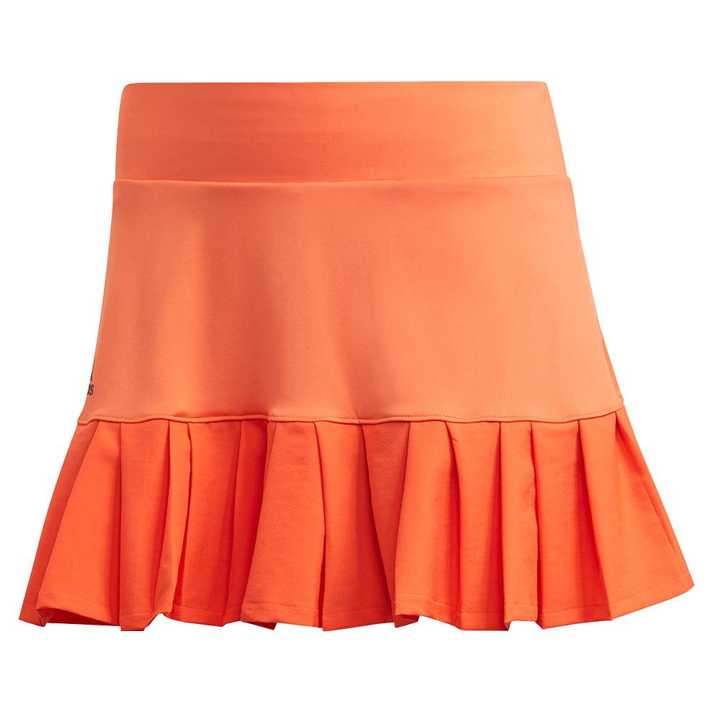Women's Primeblue 13 Inch Tennis Skort True Orange And Black