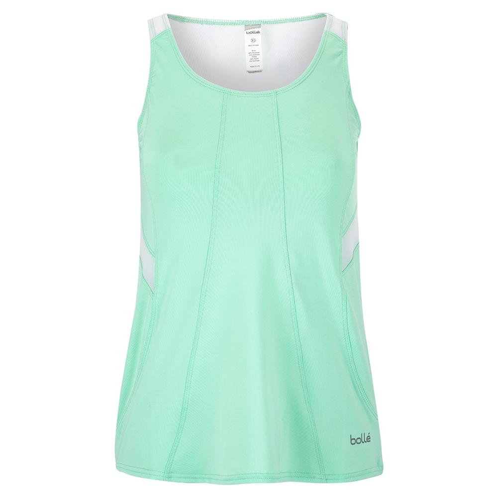 Women's Tropical Oasis Tennis Tank Mint