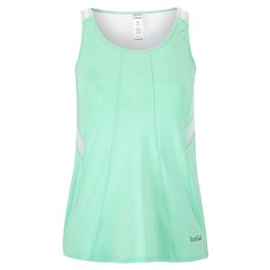 Women`s Tropical Oasis Tennis Tank Mint