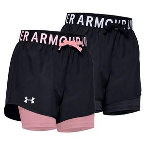 Girls` HeatGear Armour 2-in-1 Shorts