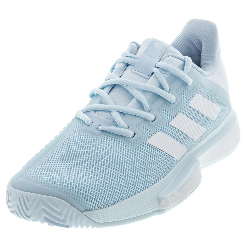 Women's Solematch Bounce Tennis Shoes Sky Tint And White