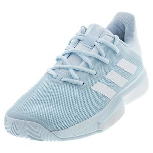 Women`s SoleMatch Bounce Tennis Shoes Sky Tint and White