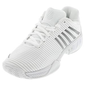Women`s Hypercourt Express 2 Tennis Shoes White and Black