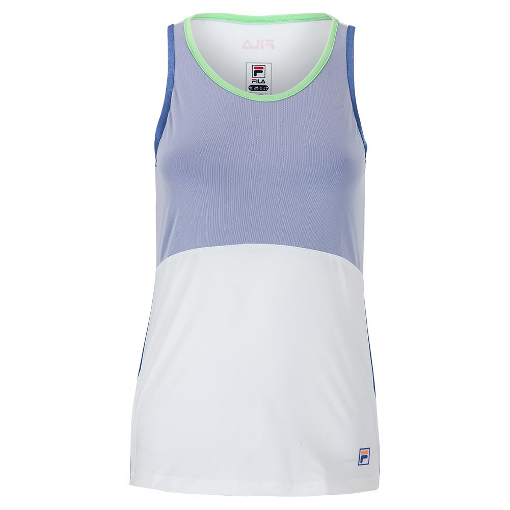 Women's Colorful Play Full Coverage Tennis Tank