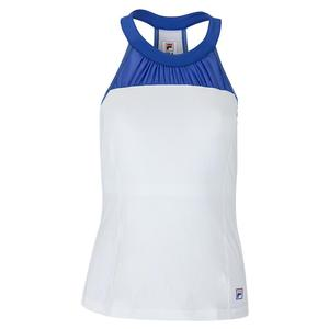 Women`s Colorful Play Halter Tennis Tank