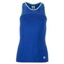 Women`s Colorful Play Racerback Tennis Tank 499_AMPARO_BLUE/GN